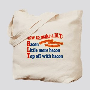 Bacon How To Make a BLT Tote Bag