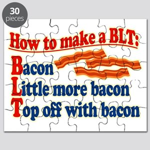 Bacon How To Make a BLT Puzzle