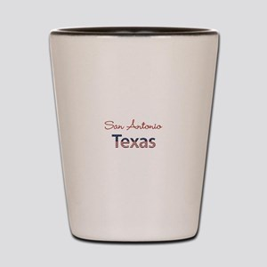 Custom Texas Shot Glass