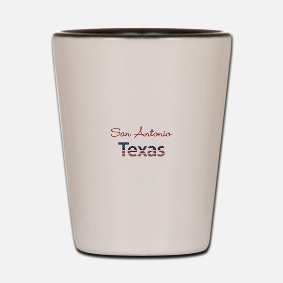 Custom Texas Shot Glass