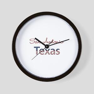 Custom Texas Wall Clock