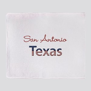 Custom Texas Throw Blanket