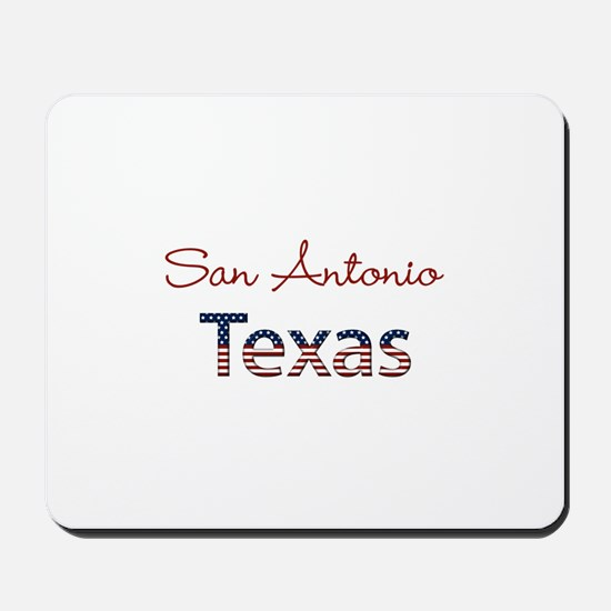 Custom Texas Mousepad
