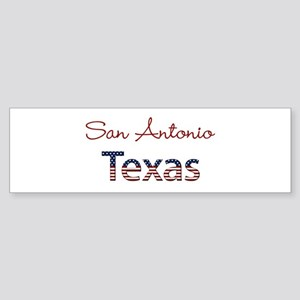 Custom Texas Sticker (Bumper)