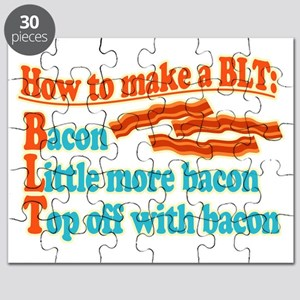 Funny Bacon BLT B.L.T. Sandwich Puzzle