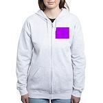 Purple Zip Hoodie