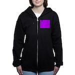 Purple Women's Zip Hoodie