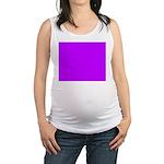 Purple Maternity Tank Top