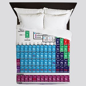 Periodic Table Queen Duvet