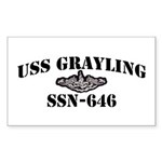 USS GRAYLING Sticker (Rectangle)
