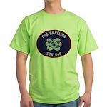 USS GRAYLING Green T-Shirt