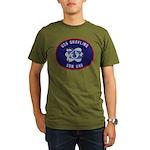 USS GRAYLING Organic Men's T-Shirt (dark)