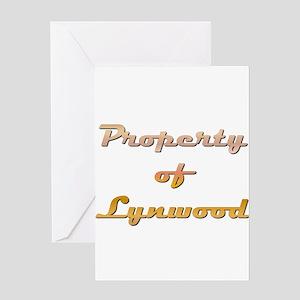 Property Of Lynwood Male Greeting Card