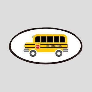 School Bus Transportation Patches