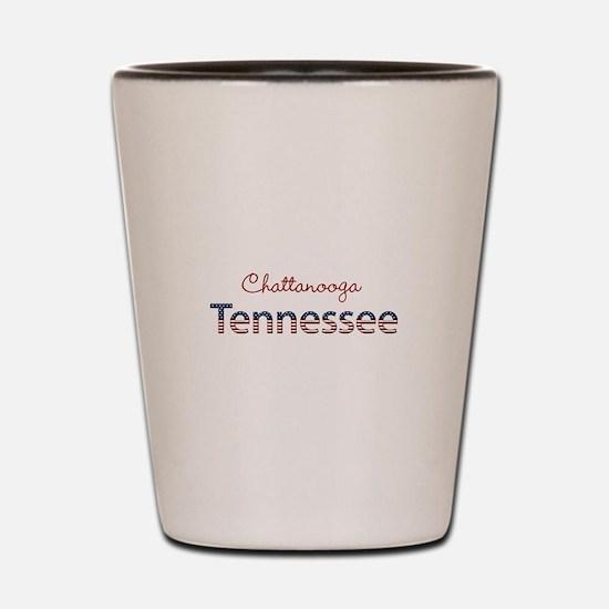 Custom Tennessee Shot Glass