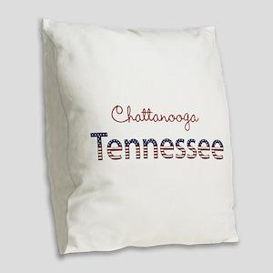 Custom Tennessee Burlap Throw Pillow