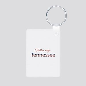 Custom Tennessee Aluminum Photo Keychain