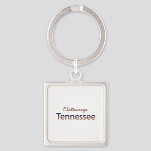 Custom Tennessee Square Keychain