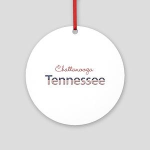 Custom Tennessee Ornament (Round)