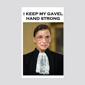 Gavel Hand Strong Sticker