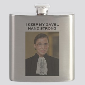 Gavel Hand Strong Flask
