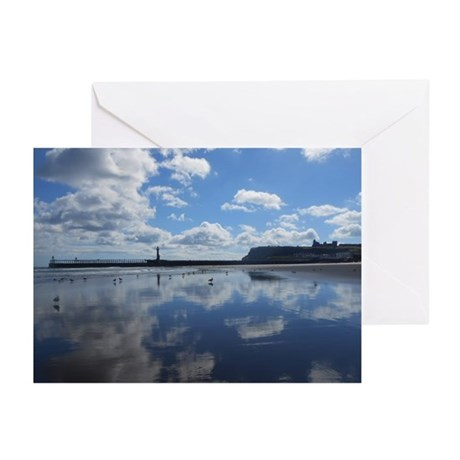 Cloudy Reflection Greeting Cards