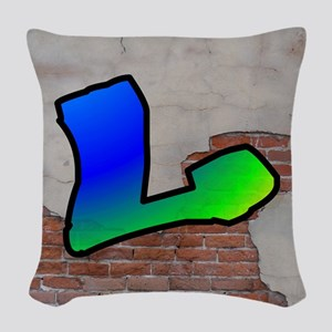 GRAFFITI #1 L Woven Throw Pillow