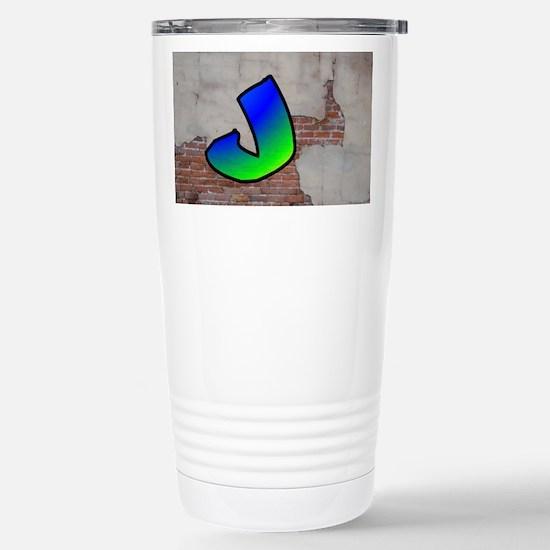 GRAFFITI #1 J Travel Mug