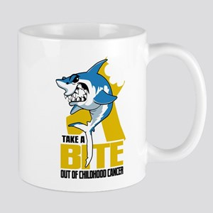 Bite Out Of Childhood Cancer Mug