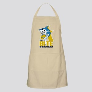 Bite Out Of Childhood Cancer Apron