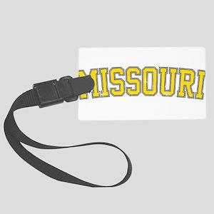 Missouri - Jersey Vintage Luggage Tag