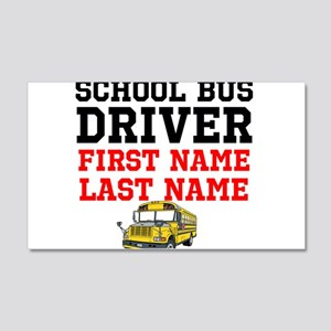 School Bus Driver Wall Decal