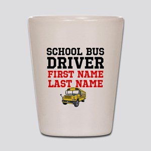 School Bus Driver Shot Glass