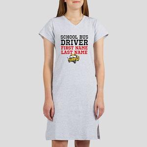 School Bus Driver Women's Nightshirt