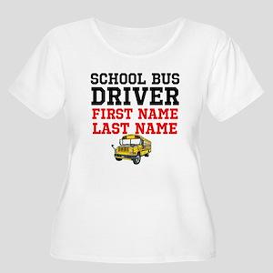 School Bus Driver Plus Size T-Shirt