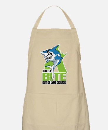Bite Out Of Lyme Disease Apron
