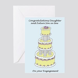 Daughter and Future Son in law Enga Greeting Cards