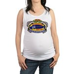 USS GREENLING Maternity Tank Top