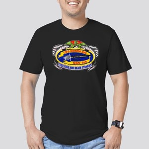 USS GREENLING Men's Fitted T-Shirt (dark)