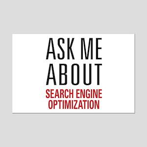 Search Engine Optimization Mini Poster Print