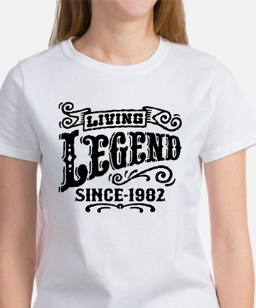 Living Legend Since 1982 Women's T-Shirt