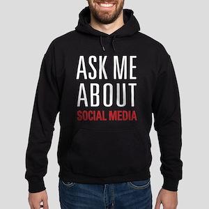 Social Media Hoodie (dark)