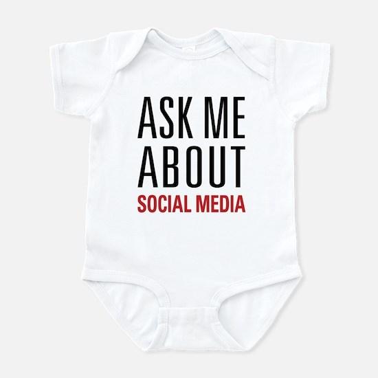 Social Media Infant Bodysuit