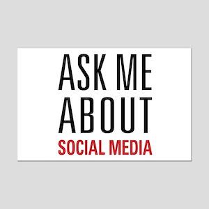 Social Media Mini Poster Print