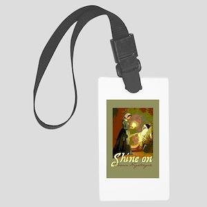 Florence Nightingale With Lamp Large Luggage Tag