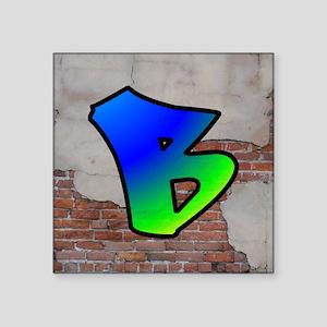GRAFFITI #1 B Sticker