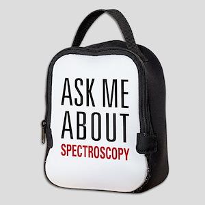 Spectroscopy Neoprene Lunch Bag
