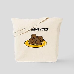 Custom Plate Of Meatballs Tote Bag