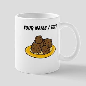 Custom Plate Of Meatballs Mugs