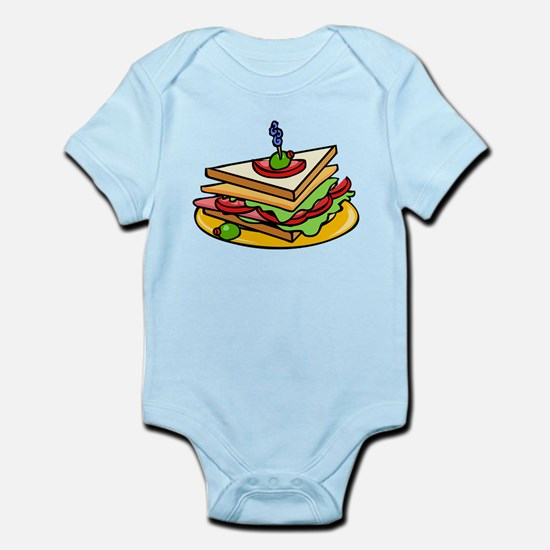 Club Sandwich Body Suit